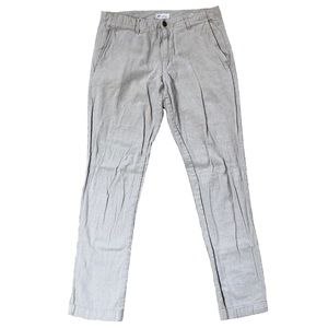 GAP Mens Slim Fit Linen Khakis Casual Pants 32x32